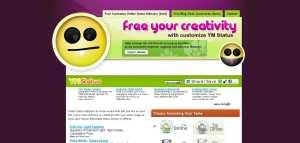 Yahoo Messenger online status indicator Free Customize_1248236825107