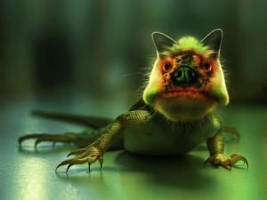 sick-lizard