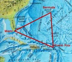Peta Letak Segitiga Bermuda